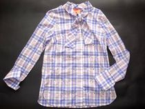 Manoush Other Plaid Patterns Long Sleeves Cotton Shirts & Blouses