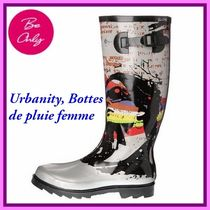 Be Only Round Toe Flat Boots