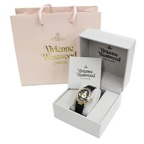 Vivienne Westwood Casual Style Leather Round Quartz Watches Bridal