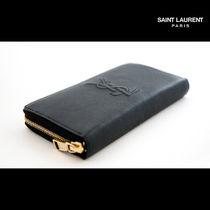 Saint Laurent Unisex Leather Long Wallets