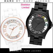 Marc by Marc Jacobs Silicon Round Analog Watches
