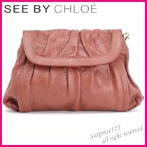 See by Chloe Flower Patterns Leather Handbags