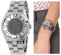 Marc by Marc Jacobs Round Quartz Watches Stainless Analog Watches