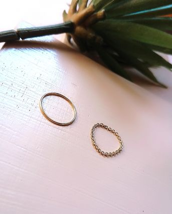 Wire string ring & Chain ring~nol~
