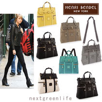 Henri Bendel Saffiano 3WAY Backpacks