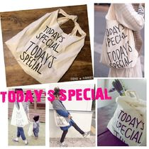 TODAY'S SPECIAL Unisex Canvas Shoppers