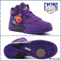 Ewing Athletics Suede Street Style Sneakers