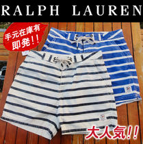 Ralph Lauren Stripes Cotton Cargo Shorts