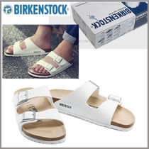 BIRKENSTOCK Driving Shoes Faux Fur Studded Loafers & Slip-ons