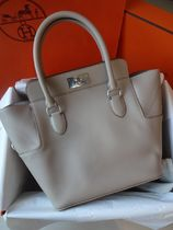 HERMES Toolbox Argile (Cream)/SHW Swift Leather 20 Bag