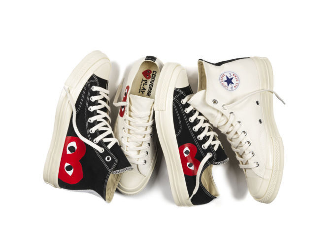 COMME des GARCONS Low-Top New-Play Converse-Chuck Taylor ' 70 High Black unisex 11