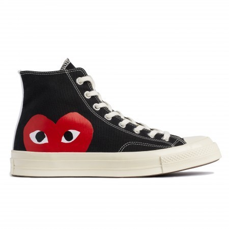 COMME des GARCONS Low-Top New-Play Converse-Chuck Taylor ' 70 High Black unisex 3