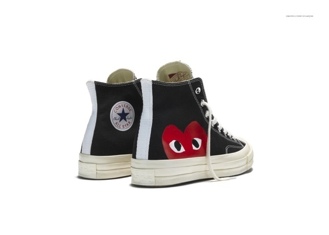 COMME des GARCONS Low-Top New-Play Converse-Chuck Taylor ' 70 High Black unisex 6