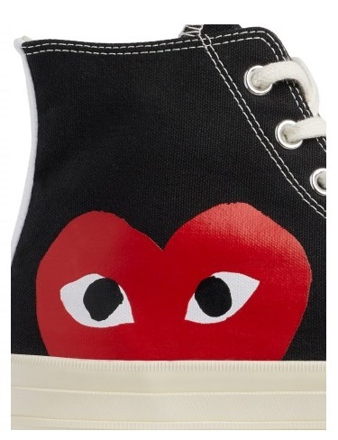 COMME des GARCONS Low-Top New-Play Converse-Chuck Taylor ' 70 High Black unisex 7