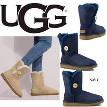 UGG Australia Mountain Boots Sheepskin Blended Fabrics Outdoor Boots