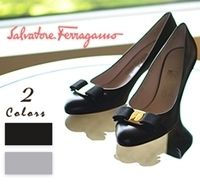 Salvatore Ferragamo Leather High Heel Pumps & Mules