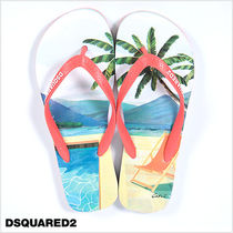 D SQUARED2 Tropical Patterns Sport Sandals Sports Sandals