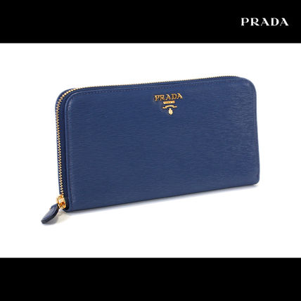 High volume finest MOVE leather long wallet