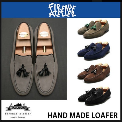 Loafers Suede Tassel Loafers & Slip-ons
