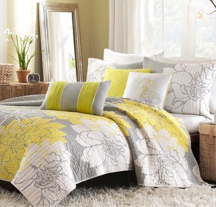 all items for bedding yellow