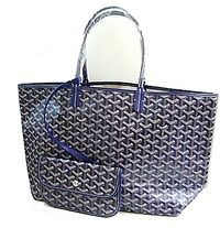 Genuine Goyard Saint Louis GOYARD PM Navy