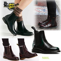 Dr Martens Plain Leather Chelsea Boots Ankle & Booties Boots