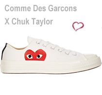 COMME des GARCONS Street Style Low-Top Sneakers