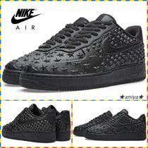 Nike AIR FORCE 1 Star Unisex Leather Sneakers