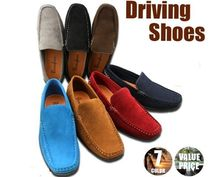 Driving Shoes Faux Fur Loafers & Slip-ons