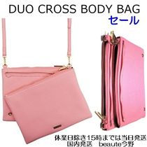 SKINNYDIP Street Style 2WAY Plain Handmade Party Style Shoulder Bags