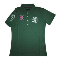 Admiral Street Style Cotton Short Sleeves Polo Shirts