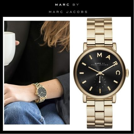 Marc by Marc Jacobs Unisex Metal Round Marc Jacobs Watches Analog Watches
