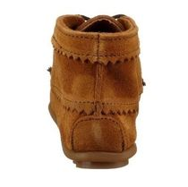 Minnetonka Suede Plain Ankle & Booties Boots