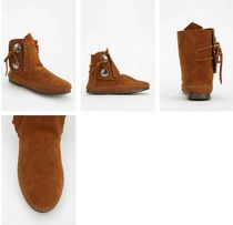 Minnetonka Fringes Ankle & Booties Boots