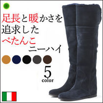 CORSOROMA9 Wedge Over-the-Knee Boots
