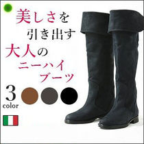 CORSOROMA9 Leather Over-the-Knee Boots