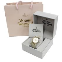Vivienne Westwood Casual Style Leather Round Quartz Watches Analog Watches