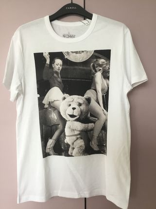 NO COMMENT PARIS More T-Shirts Street Style Cotton Short Sleeves T-Shirts