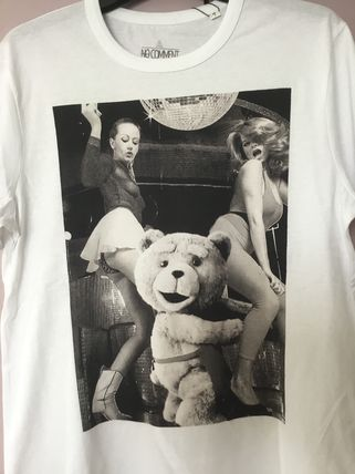 NO COMMENT PARIS More T-Shirts Street Style Cotton Short Sleeves T-Shirts 2