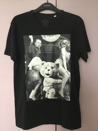 NO COMMENT PARIS More T-Shirts Street Style Cotton Short Sleeves T-Shirts 3