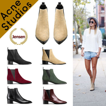 Acne * Jensen side Gore ankle boots