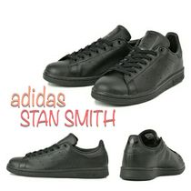 adidas STAN SMITH Rubber Sole Casual Style Unisex Street Style Plain
