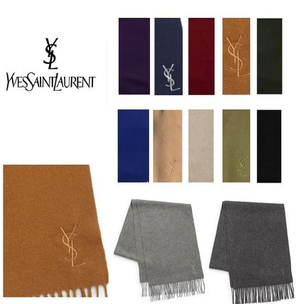 Saint Laurent Cashmere Scarves