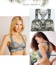 Free People Flower Patterns Nylon Bras