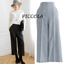 Plain Medium Culottes & Gaucho Pants