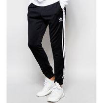 adidas SUPERSTAR Stripes Sweat Street Style Plain Joggers & Sweatpants