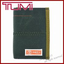 TUMI Unisex Nylon Folding Wallets