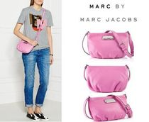Marc by Marc Jacobs Casual Style 2WAY Plain Leather Crossbody Shoulder Bags