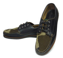 Eastland Camouflage Moccasin Collaboration Leather Loafers & Slip-ons