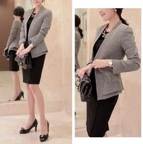 Plain Medium Party Style Jackets